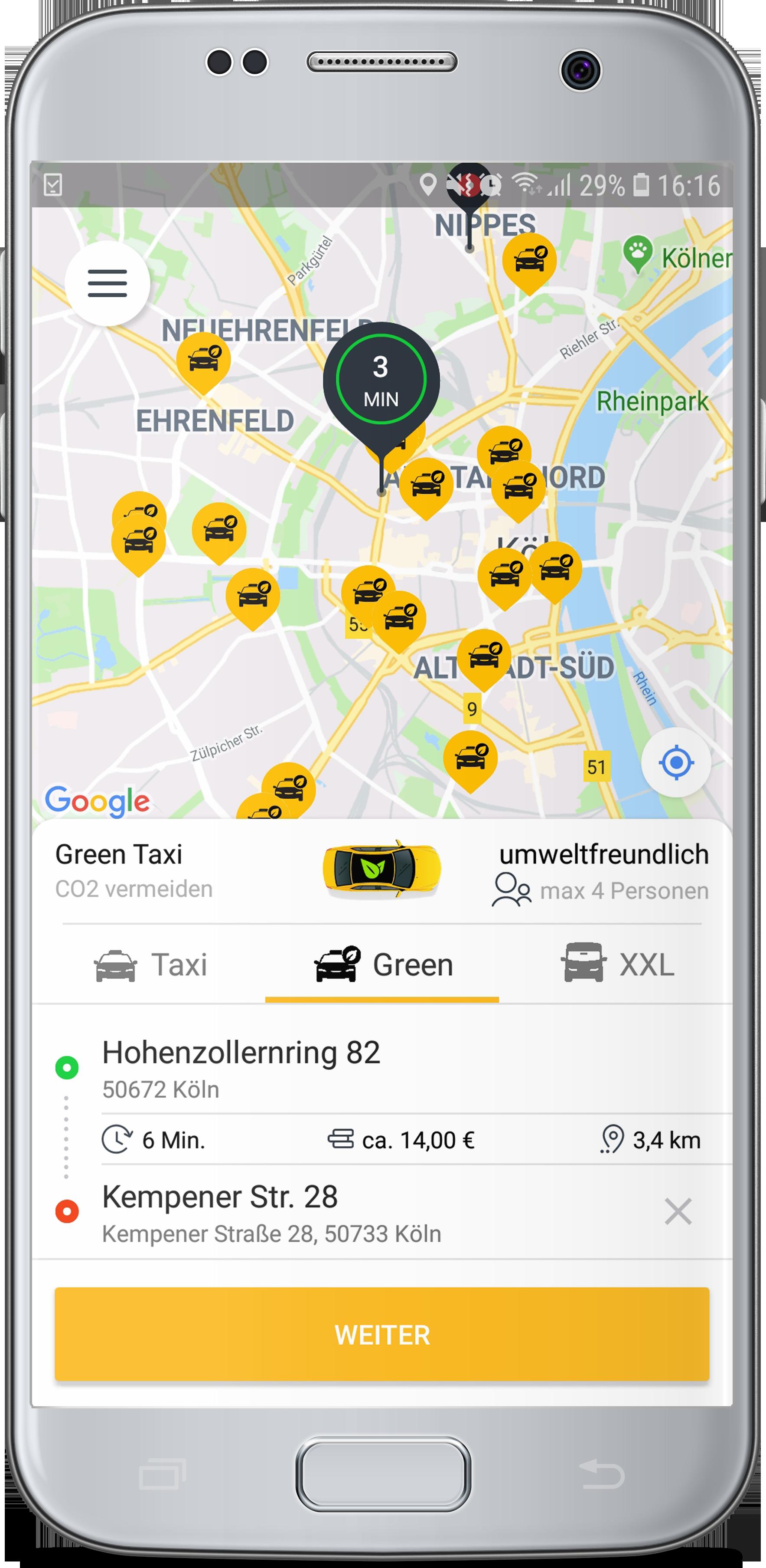 Green-Taxi • taxi eu